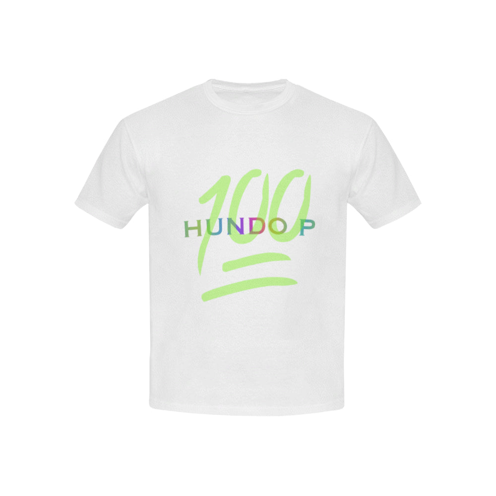 LOLLI GANG HUNDO P kid's white tee