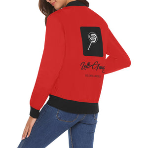 LOLLI GANG Spring Jacket_Rita Collection (brick red)
