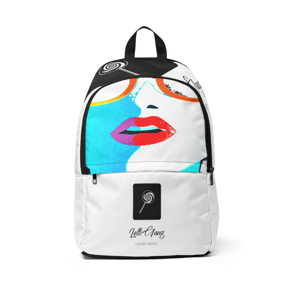 LOLLI GANG Kiss Collection Backpack (white)