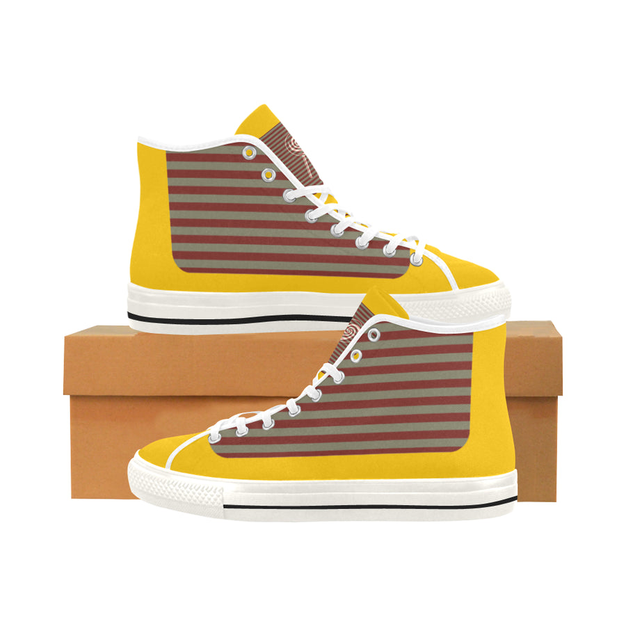 LOLLI GANG Vancouver Red Stripe High-Top Sneaker_Stripe Collection