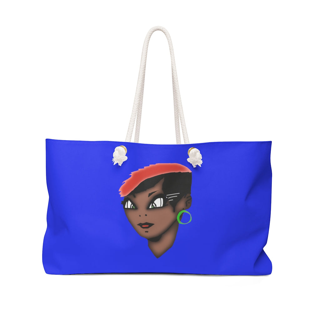 Lolli Gang Weekender Bag (Tori) blue