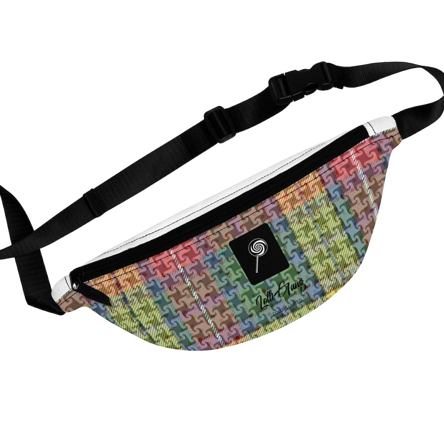 Lolli Gang Fanny Pack(Plaid)