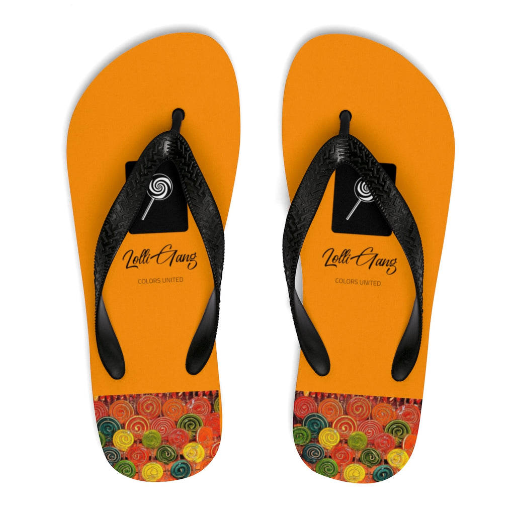 LOLLI GANG Thong Flip-Flops (orange)