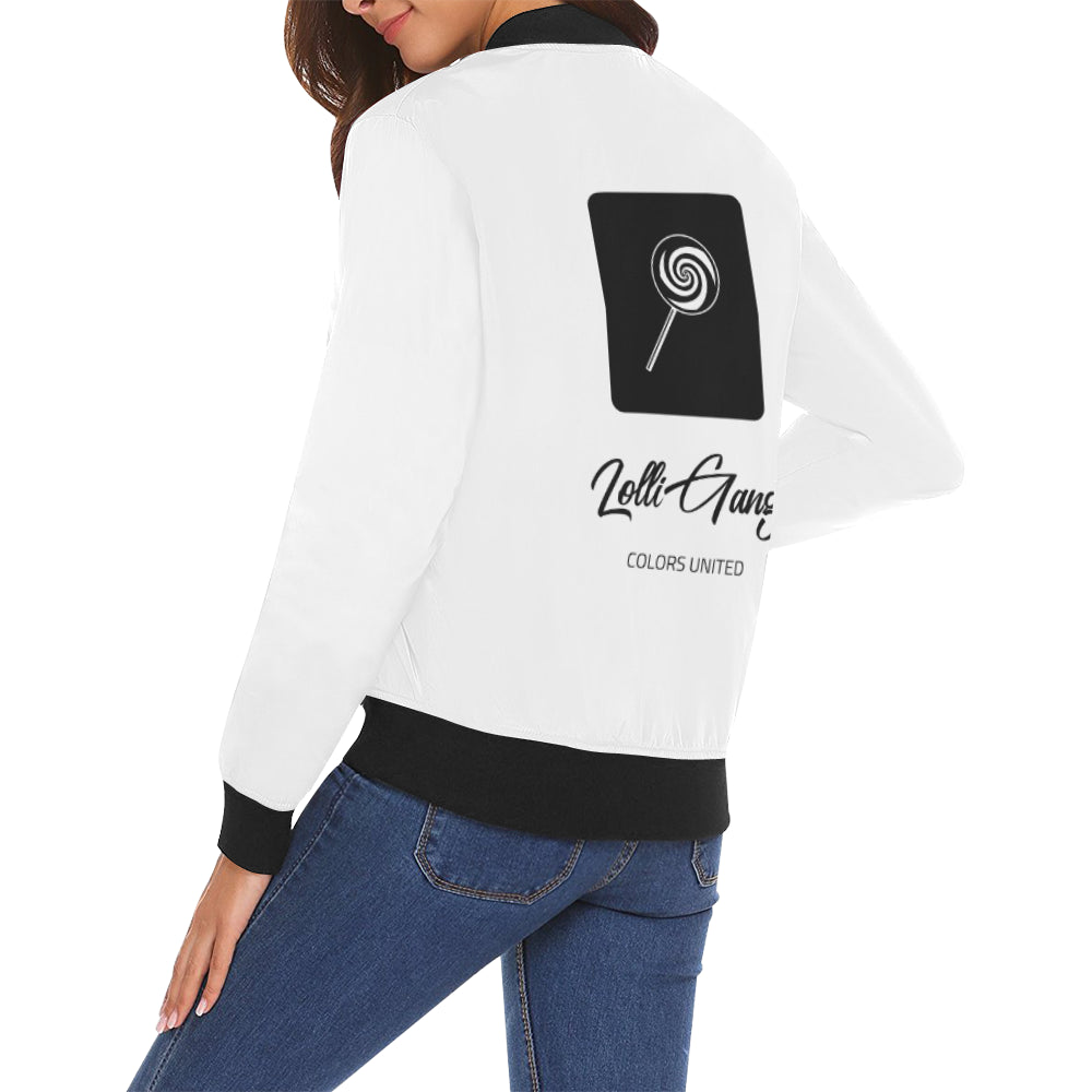 LOLLI GANG Spring Jacket_Tori Collection (white)