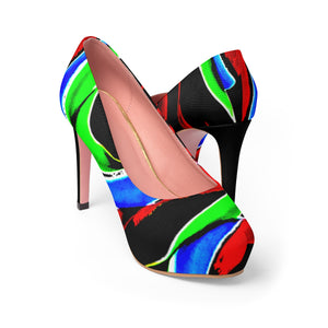 LOLLI GANG Women's Platform Heels_Lolliswirl Collection
