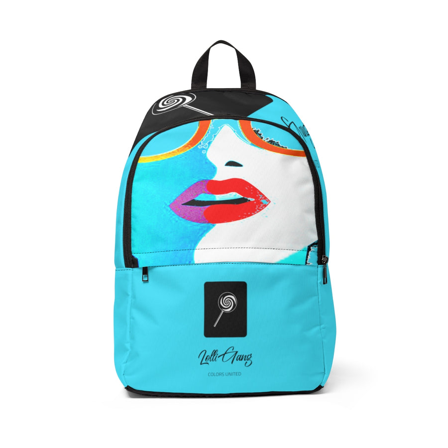 LOLLI GANG Kiss Collection Backpack (blue)