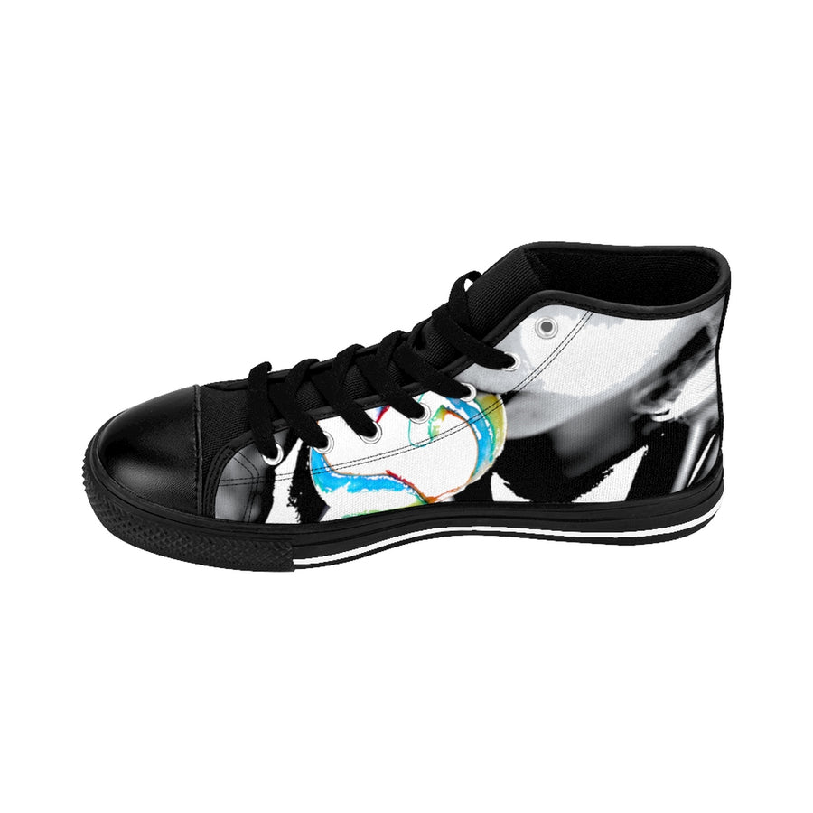 LOLLI GANG Women's High-top Sneakers_Abstract collection