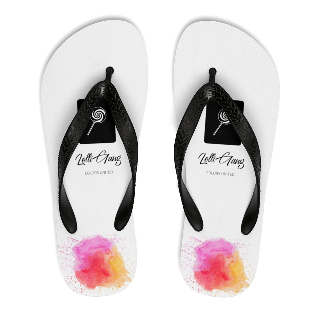 LOLLI GANG Thong Flip-Flops (white)
