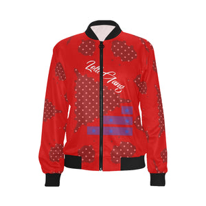 LOLLI GANG USA Women's bomber jacket_red