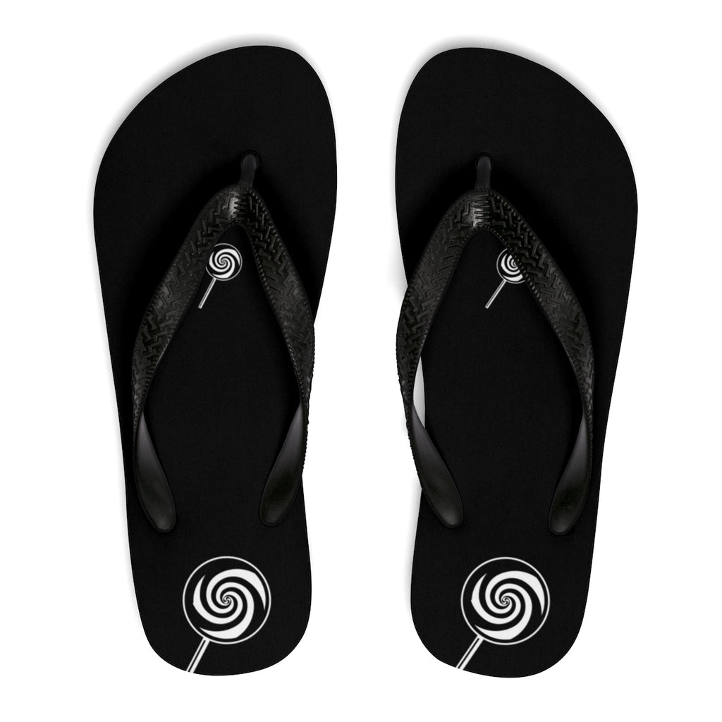 LOLLI GANG Pop My Pop Flip-Flops (black)