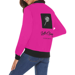 LOLLI GANG Spring Jacket_Rita Collection (pink)
