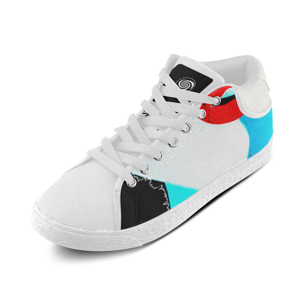 LOLLI GANG Chukka Canvas Sneakers _Kiss Collection (white)
