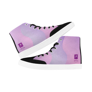 LOLLI GANG High-top Canvas Sneakers (purple)
