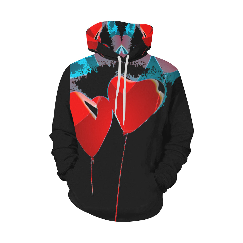 LOLLI GANG Hoodie_Heart Collection (black)