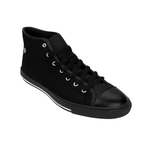 LOLLI GANG Logo Women's High-top Sneakers (black)