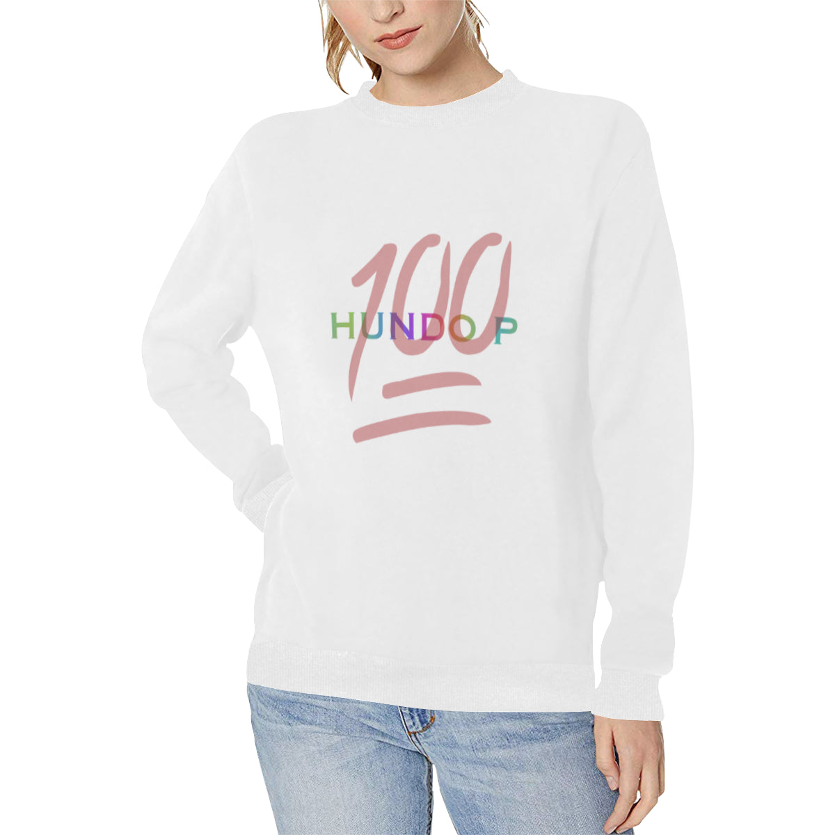 LOLLI GANG HUNDO P Fall sweater_white
