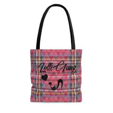 Lolli Gang Tote Bag (Plaid)