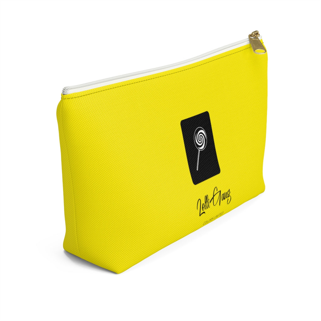 LOLLI GANG Logo Accessory Pouch (yellow)