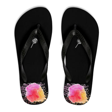 LOLLI GANG Thong Flip-Flops (black)