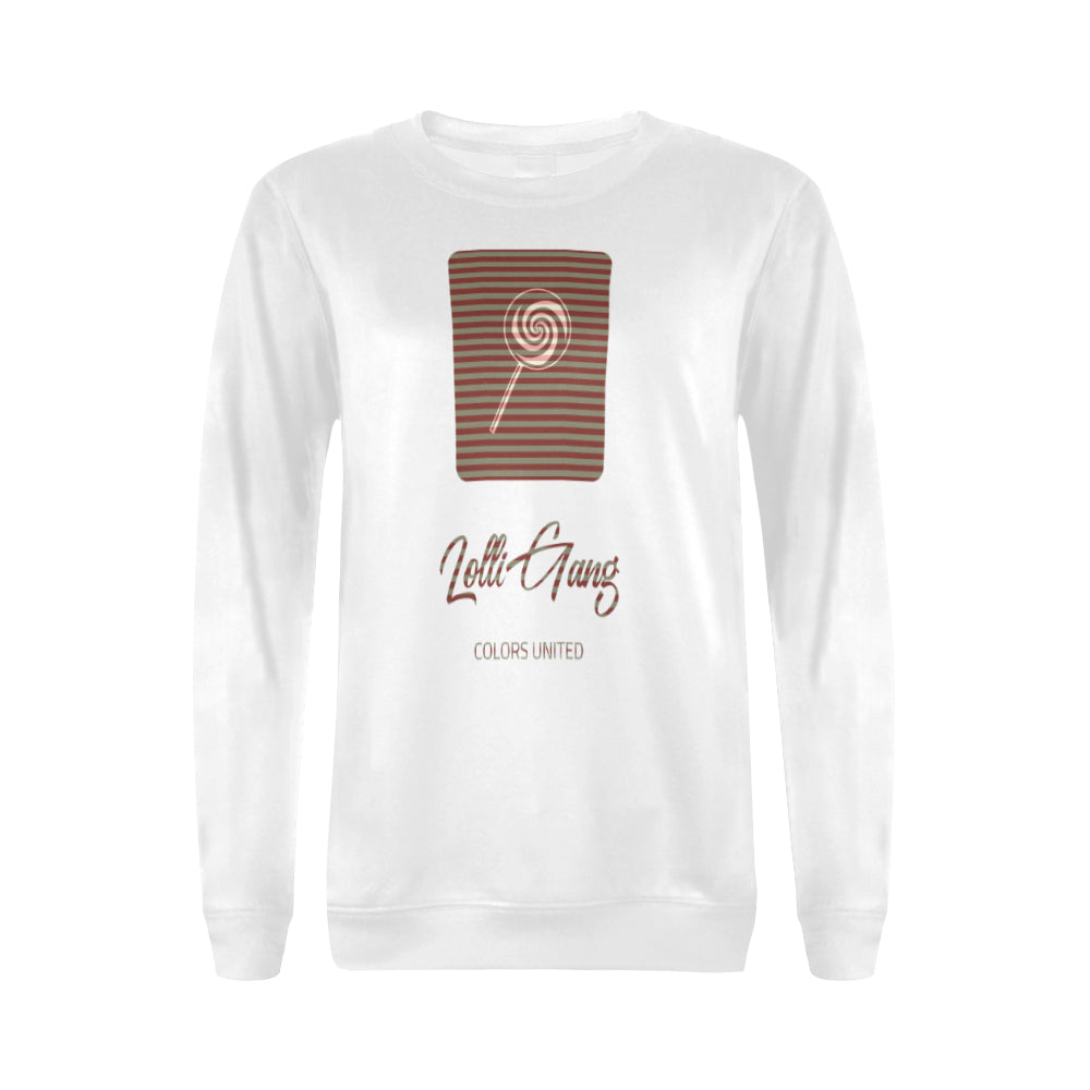 LOLLI GANG Sweater_Stripe Collection (white)