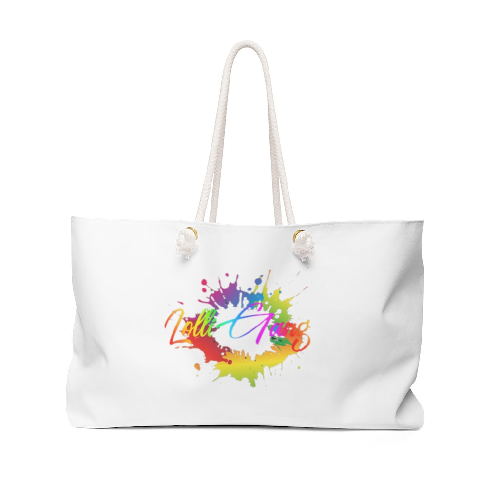 Lolli Gang Weekend Bag white