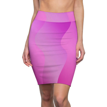 LOLLI GANG Pencil Skirt (pink)