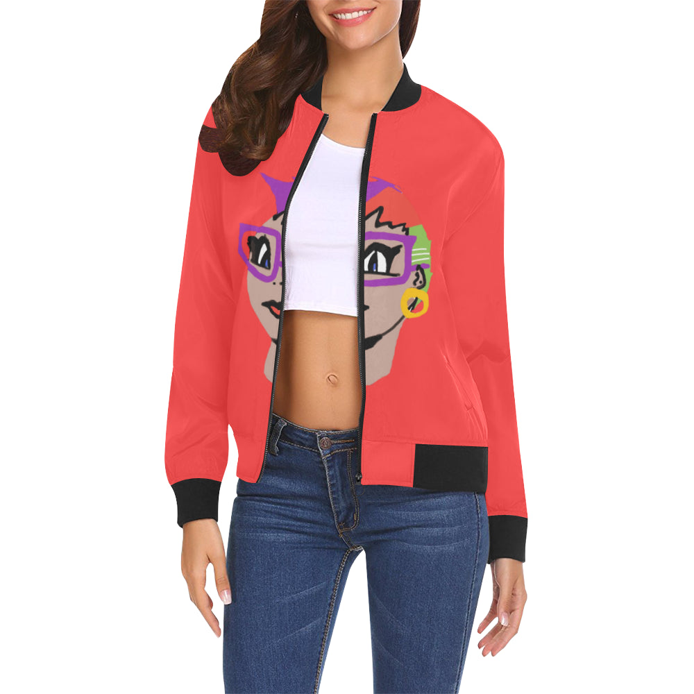 LOLLI GANG Spring Jacket_JuJu Collection (red)