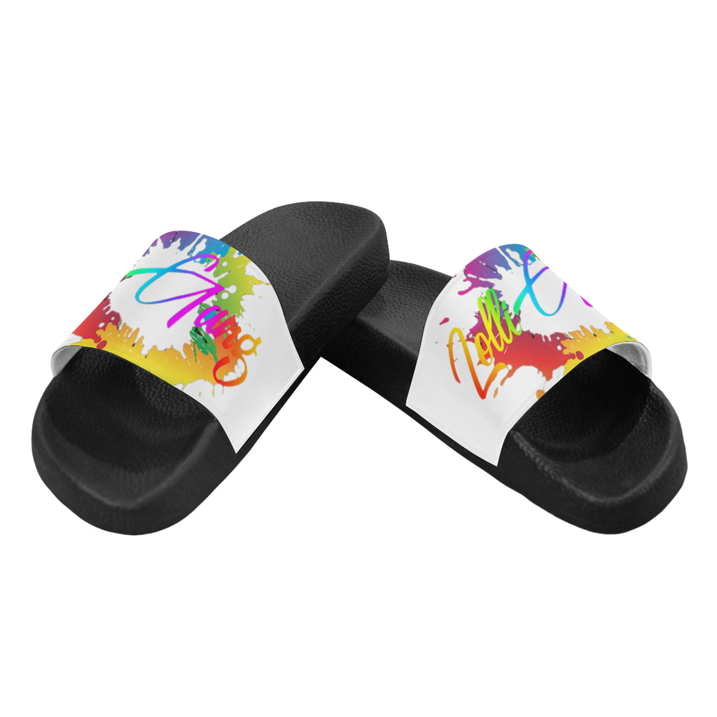LOLLI GANG SPLASH Flip flops_white