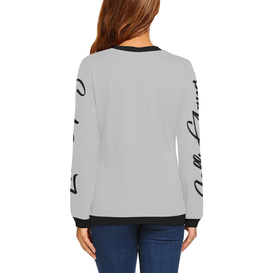 LOLLI GANG Tori Collection fall sweater gray