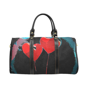 LOLLI GANG Travel Bag_Heart Collection (black)