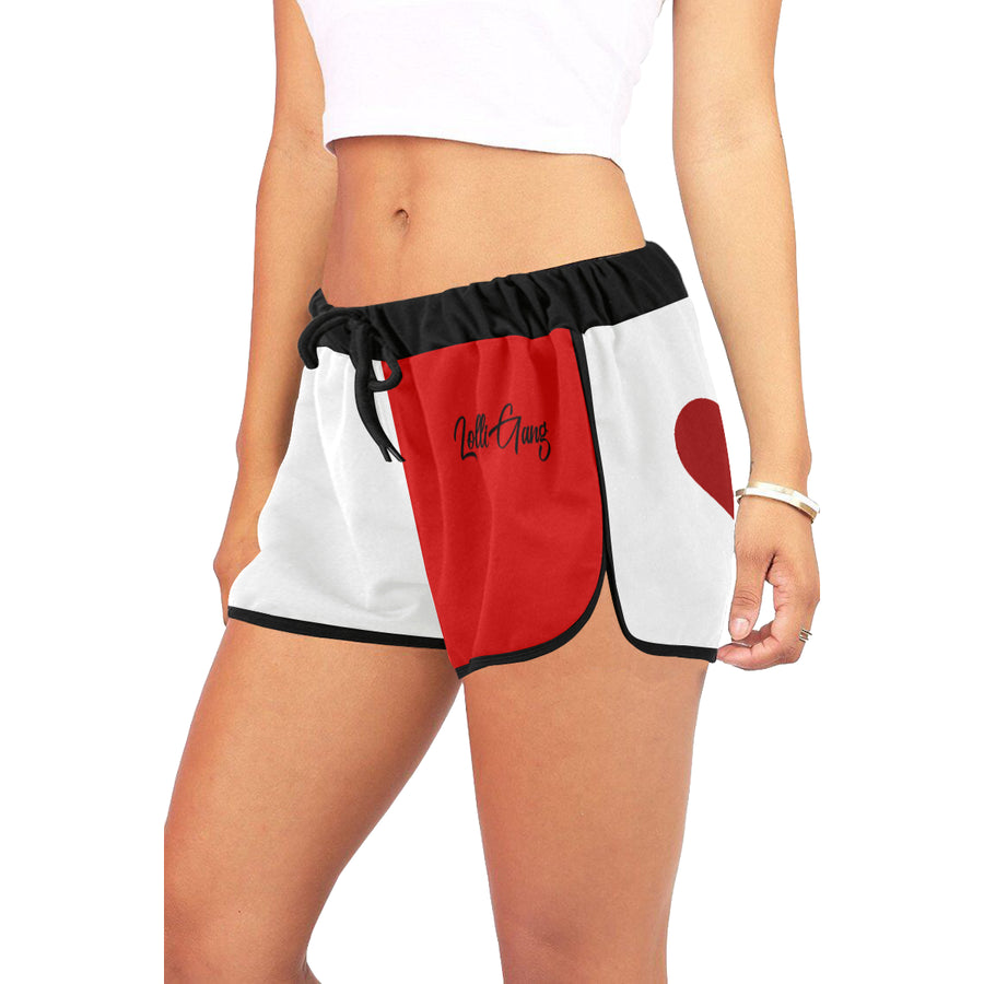 Lolli Gang shorts (Red/white/black)