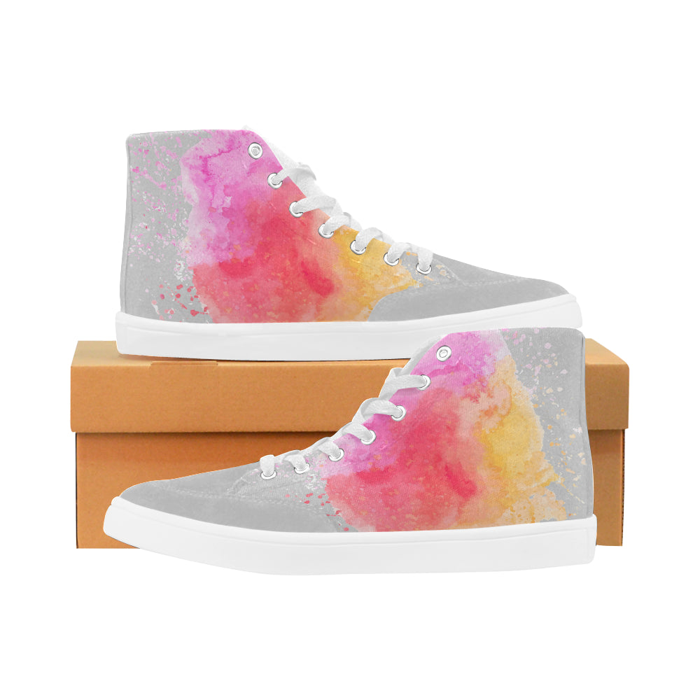 LOLLI GANG High-top Canvas Sneakers (gray)