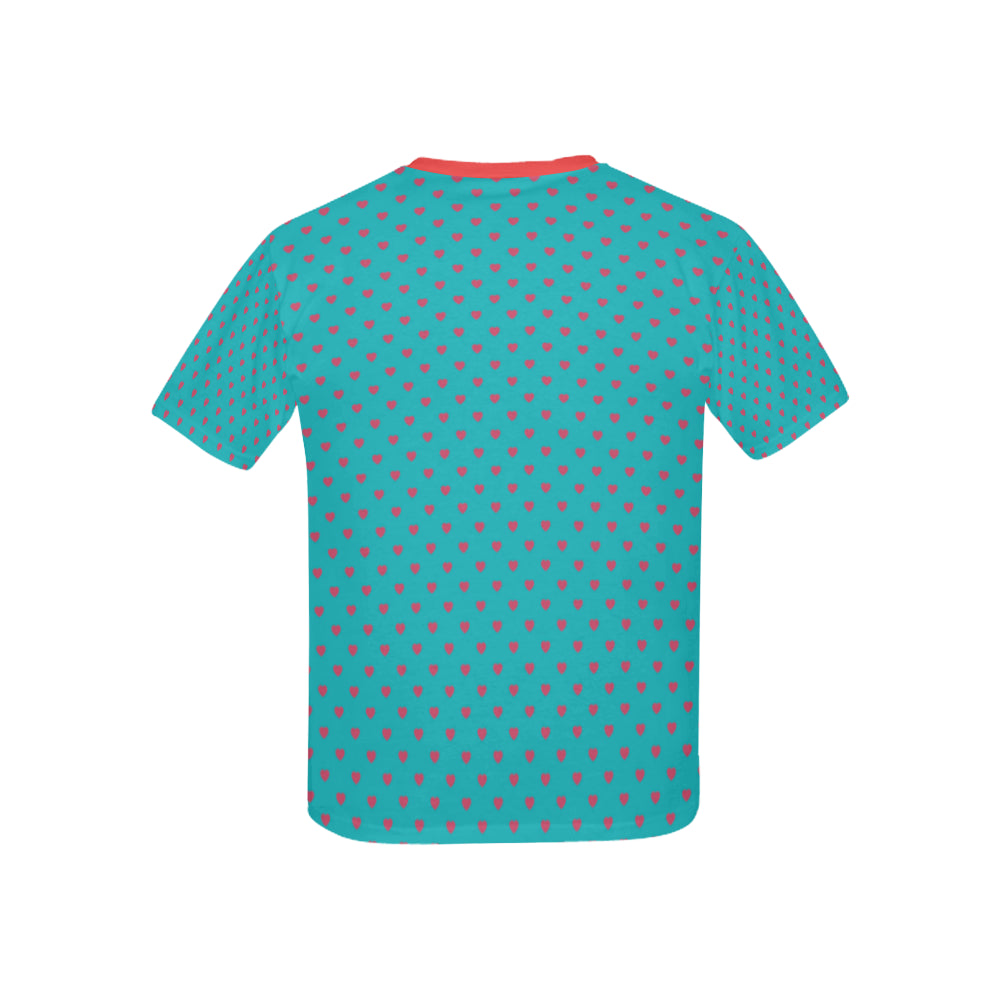 Lolli Gang Heart collection kids tee