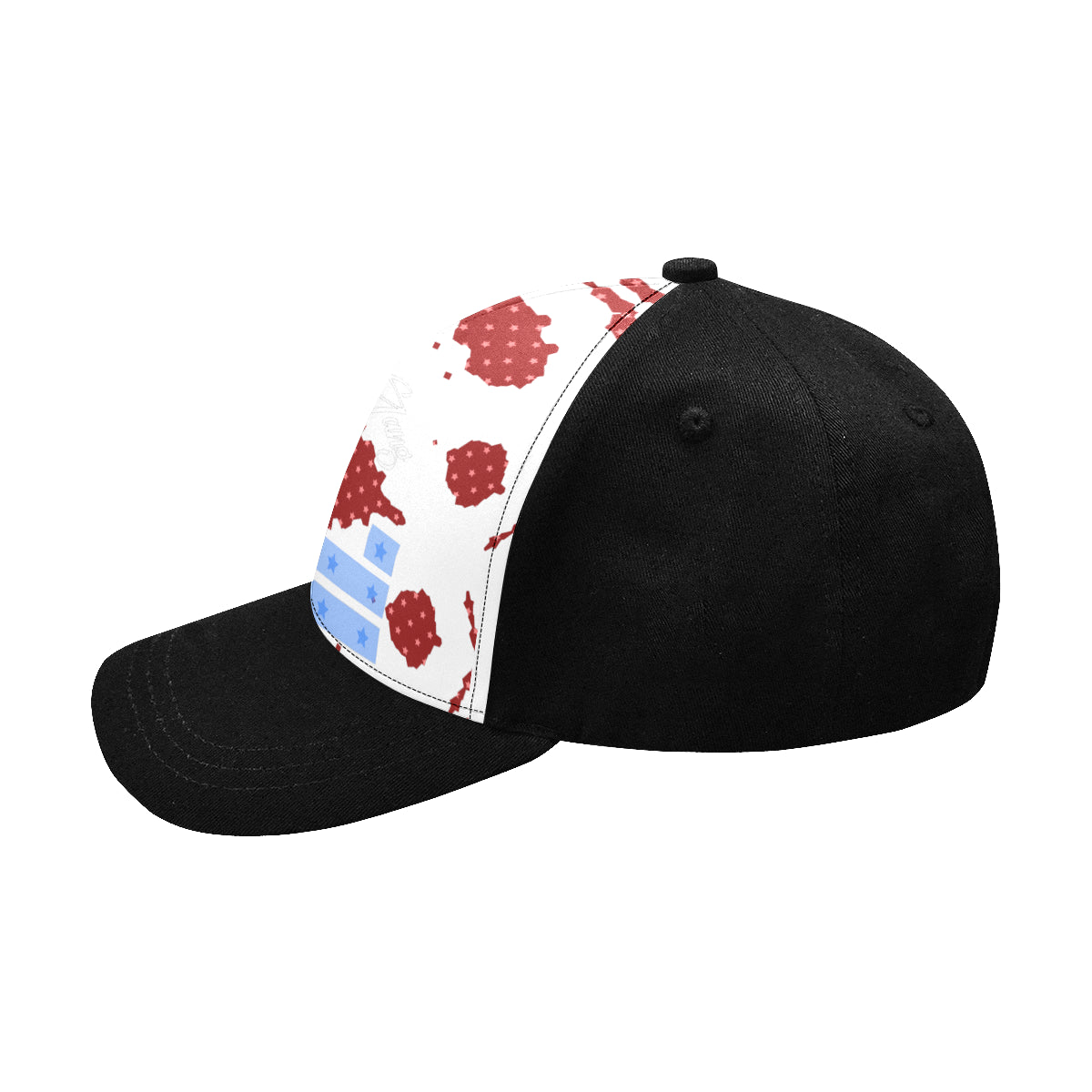 LOLLI GANG Baseball Cap_white/black