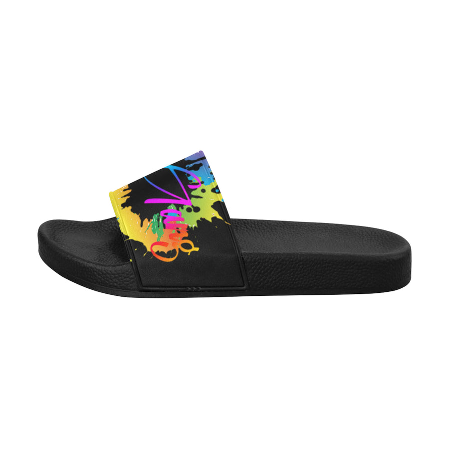 LOLLI GANG Splash Flip flops_black