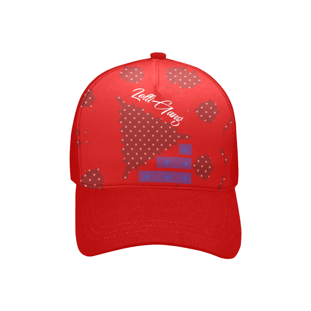 LOLLI GANG USA Baseball Cap_red