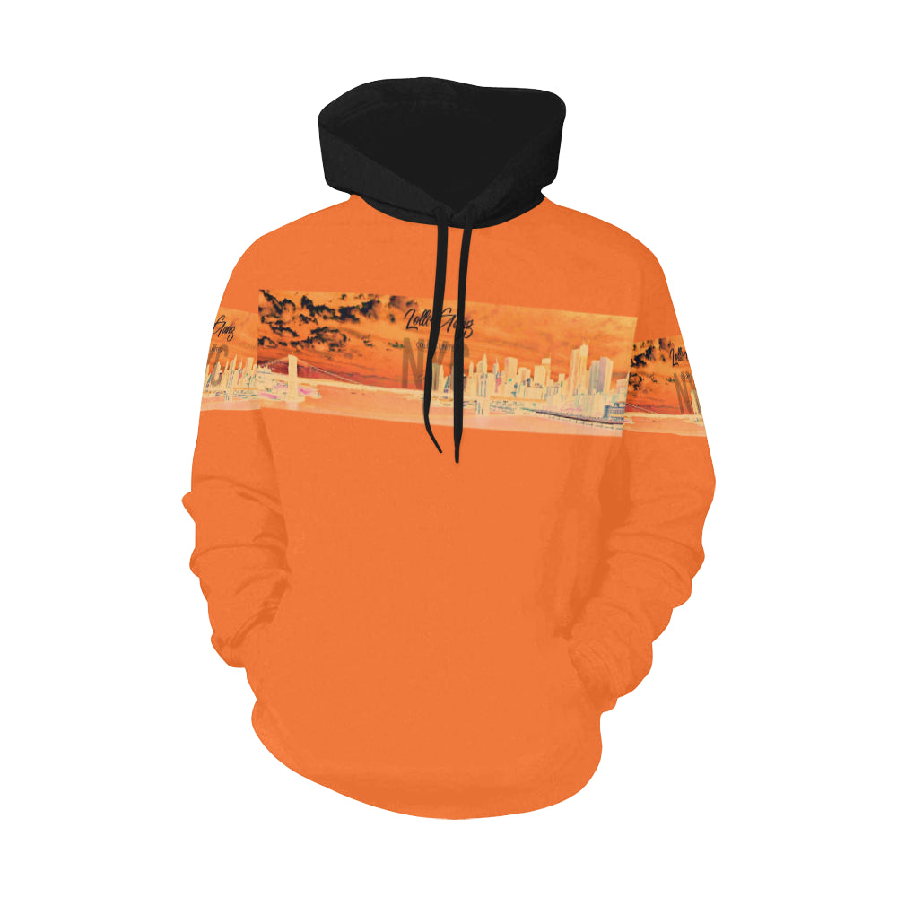 LOLLI GANG Hoodie Brooklyn Bridge (orange)