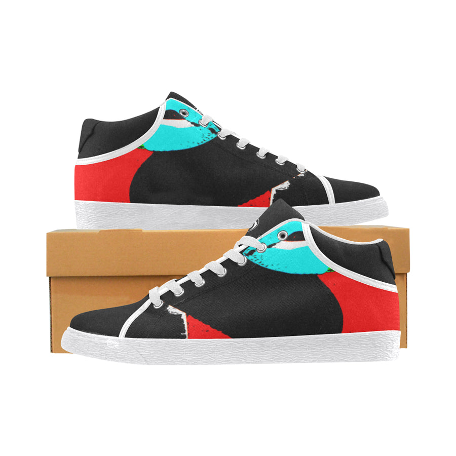 LOLLI GANG Chukka Canvas Sneakers_ Kiss Collection (black)