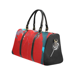 LOLLI GANG Travel Bag_Heart Collection (red)