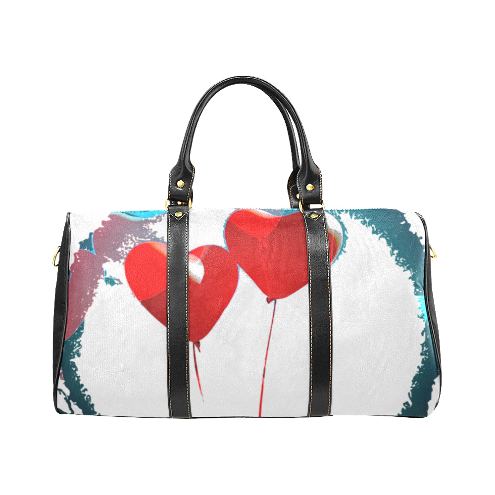 LOLLI GANG Travel Bag_Heart Collection (white)
