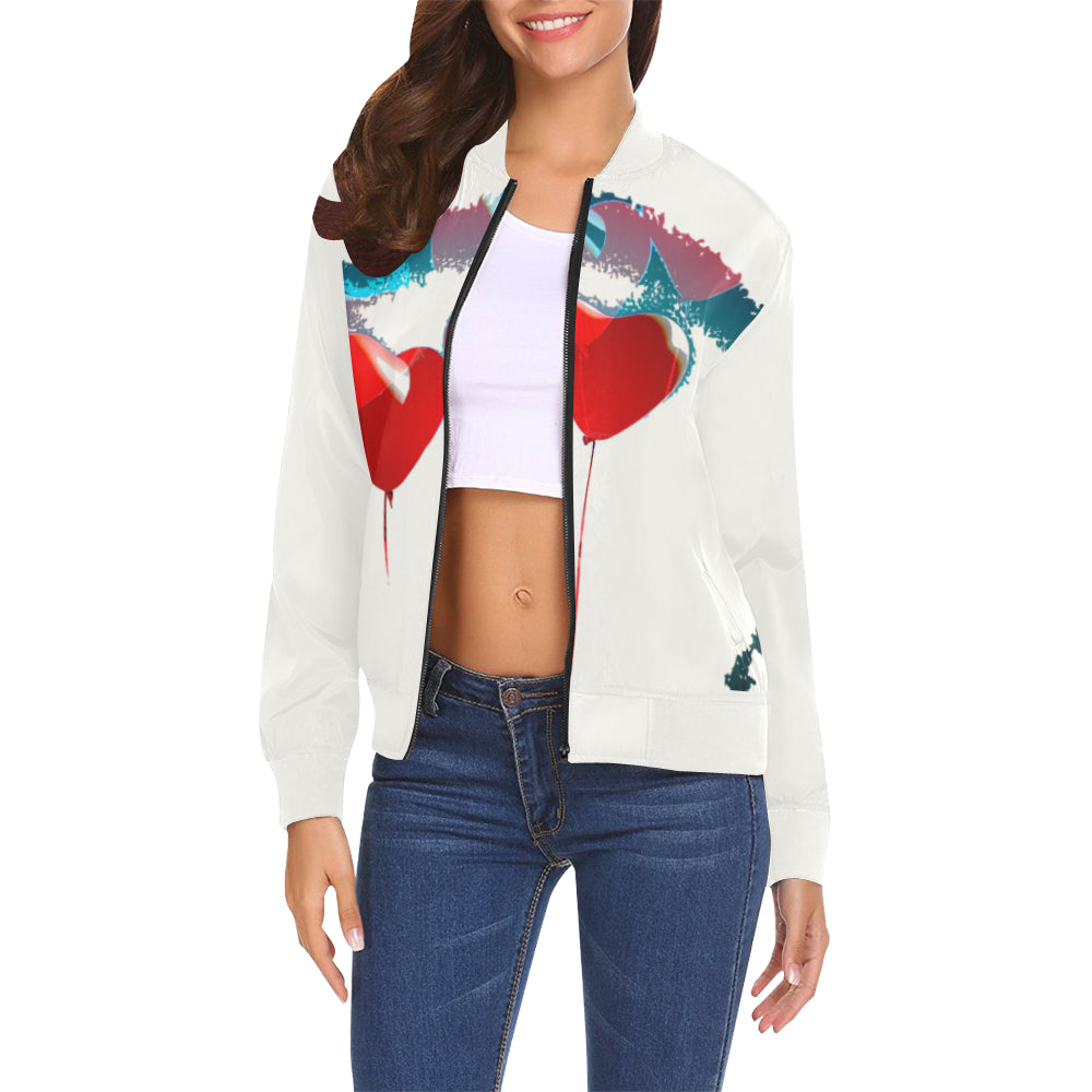 LOLLI GANG Spring Jacket_Heart Collection (white)