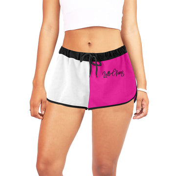 Lolli Gang shorts (Pink/white/black)