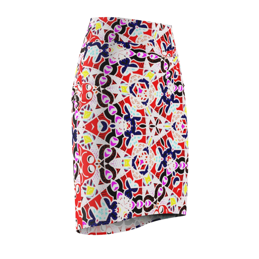 Lolli Gang Women's Pencil Skirt (multi)