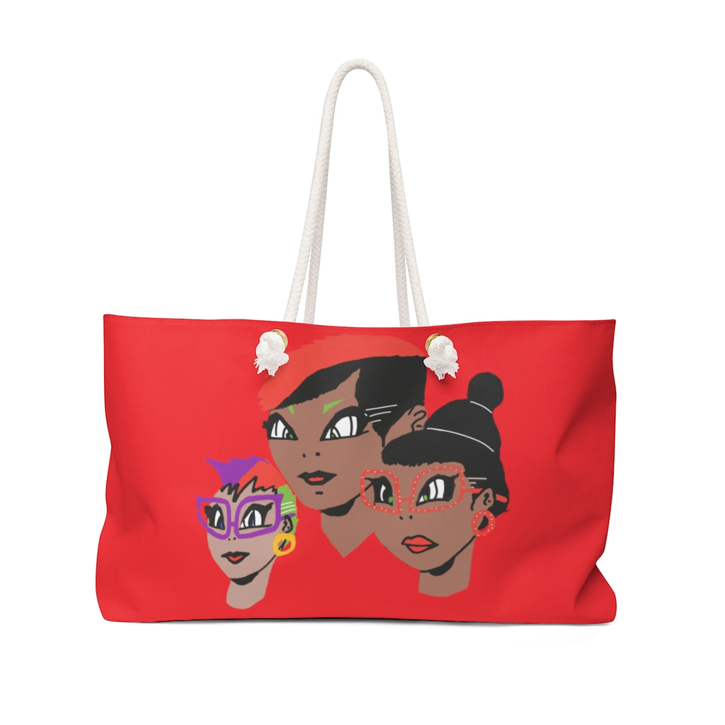 LOLLI GANG (Girl Gang) Tote Bag (red)