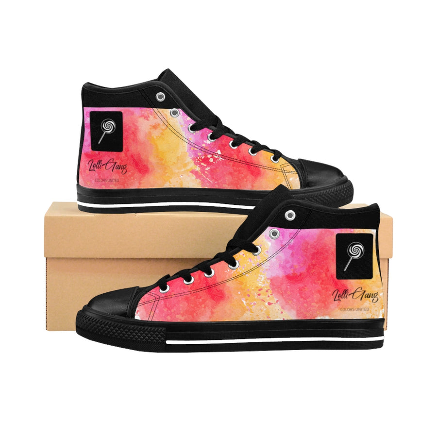LOLLI GANG Women's High-top Sneakers_Cotton Candy Collection (pink/multi)