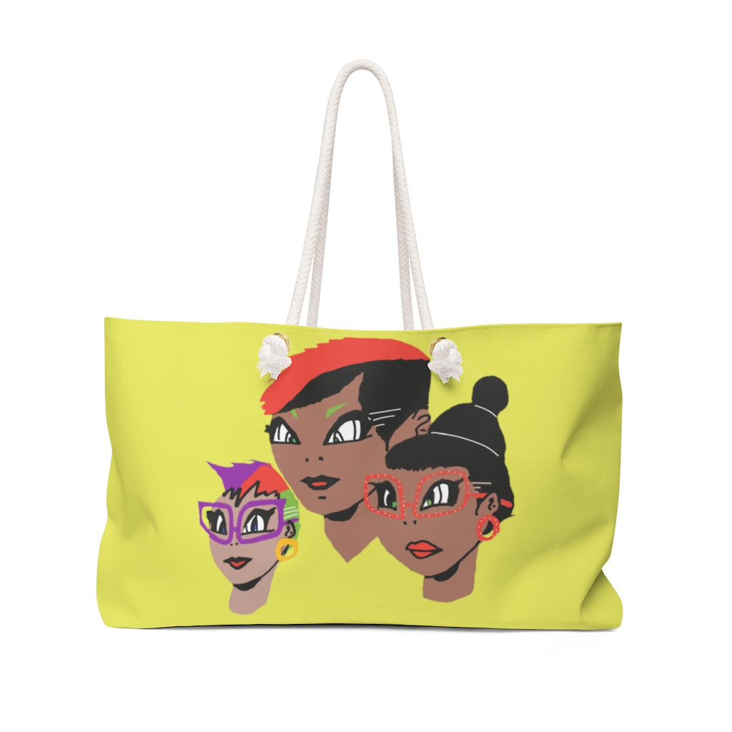 LOLLI GANG (Girl Gang) Tote Bag (yellow)