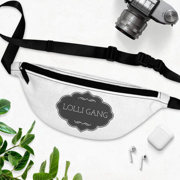 LOLLI GANG Unisex Fanny Pack (white)