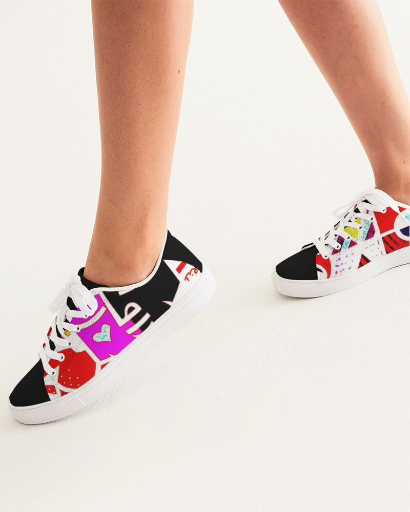 LOLLI GANG Women's Faux-Leather Sneaker