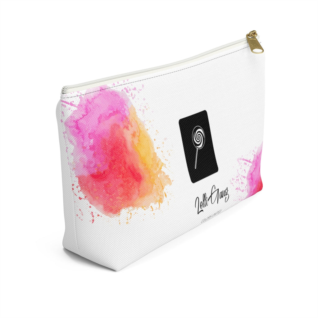LOLLI GANG Cotton Candy Accessory Pouch (white)