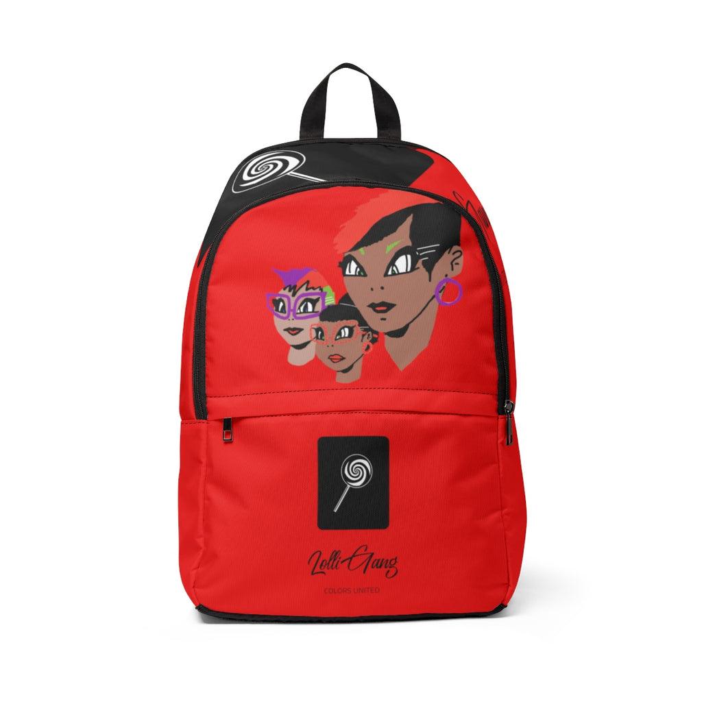 LOLLI GANG (Girl Gang) Backpack (red)